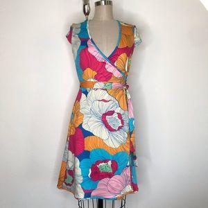 JB by Julie Brown P printed wrap dress